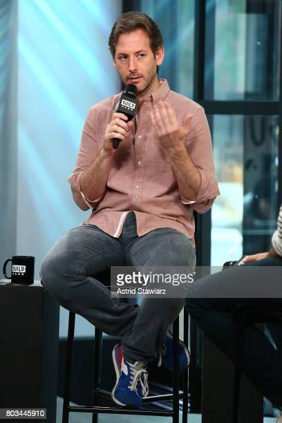 Director Jeff Baena discusses 'The Little Hours' at Build Studio on June 29 2017 in New York City