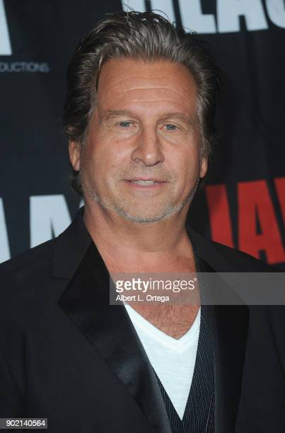 Director Jeff Celentano arrives for the premiere of 'Glass Jaw' held at Universal Studios Hollywood on November 9 2017 in Universal City California