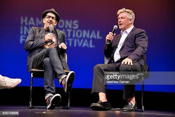 "Director Jeff Feuerzeig and Actor Alec Baldwin attend the Hamptons International Film Festival SummerDocs Series screening of ""Author: The JT Leroy..."