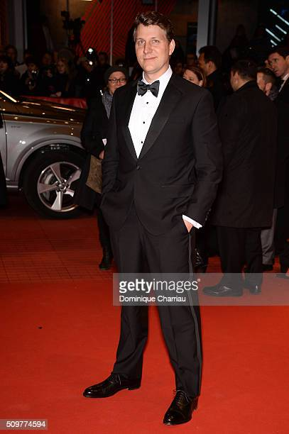 Director Jeff Nichols attends the 'Midnight Special' premiere during the 66th Berlinale International Film Festival Berlin at Berlinale Palace on...