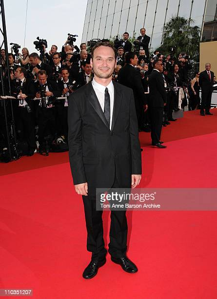 """Director Jeff Vespa arrives at the """"Blindness"""" premiere during the 61st Cannes International Film Festival on May 14, 2008 in Cannes, France."""