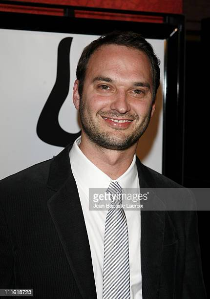 Director Jeff Vespa arrives at the premiere of 'Nosebleed' at the Mann Chinese Theatre on March 19 2008 in Los Angeles California