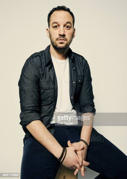 Director Jeff Zimablist of the film Momentum Generation poses for a portrait during the 2018 Tribeca Film Festival at Spring Studio on April 21 2018...