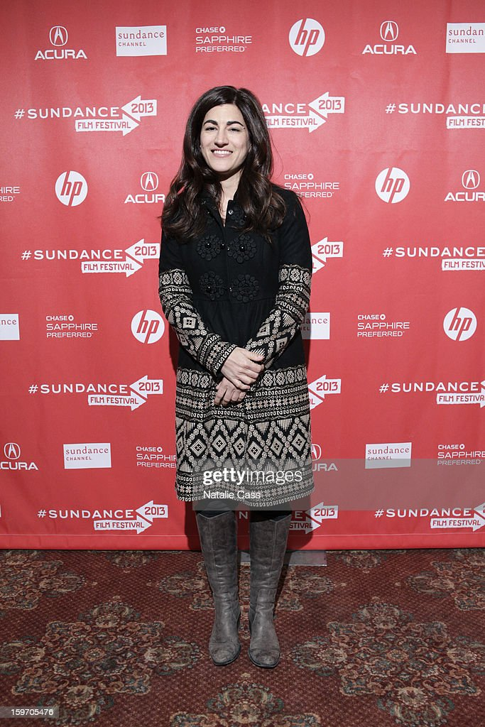 Director Jehane Noujaim attends 'The Square(Al Midan)' Premiere during the 2013 Sundance Film Festival at Yarrow Hotel Theater on January 18, 2013 in Park City, Utah.