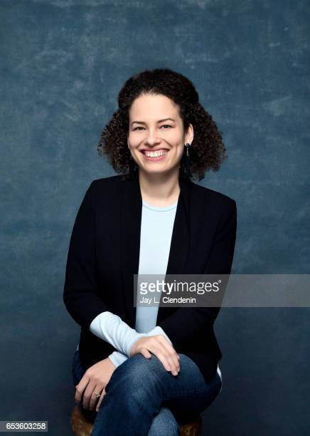 Director Jennifer Brea from the documentary film Unrest is photographed at the 2017 Sundance Film Festival for Los Angeles Times on January 24 2017...