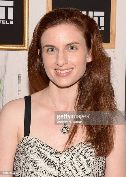 Director Jennifer Clary attends 17th Annual GenArt Film Festival Premiere of The Silent Thief at School of Visual Arts Theater on August 12 2012 in...