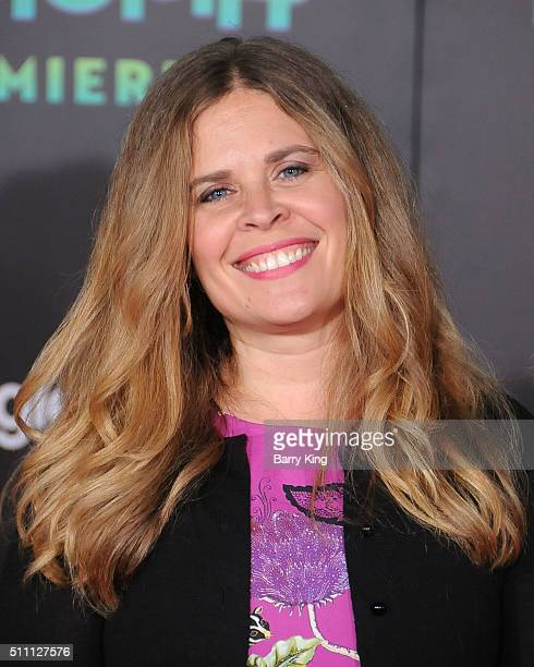 Director Jennifer Lee attends the Premiere of Walt Disney Animation Studios' 'Zootopia' at the El Capitan Theatre on February 17 2016 in Hollywood...