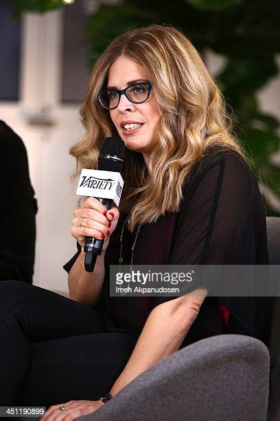 Director Jennifer Lee attends Variety Awards Studio Day 2 at the Leica Gallery and Store on November 21 2013 in West Hollywood California