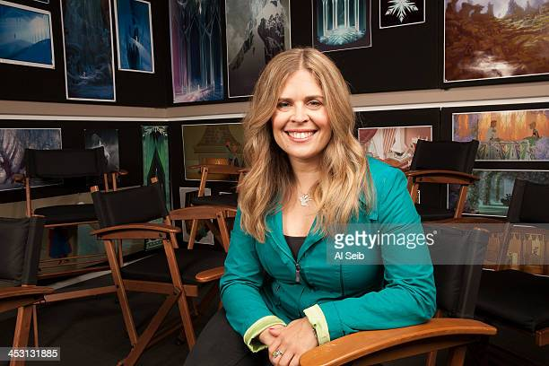 Director Jennifer Lee is photographed for Los Angeles Times on November 15 2013 in Burbank California PUBLISHED IMAGE CREDIT MUST READ Al Seib/Los...