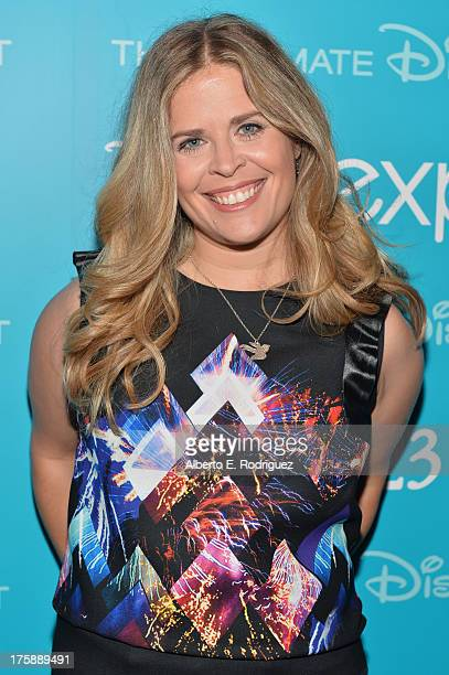 Director Jennifer Lee of Frozen attends Art and Imagination Animation at The Walt Disney Studios presentation at Disney's D23 Expo held at the...