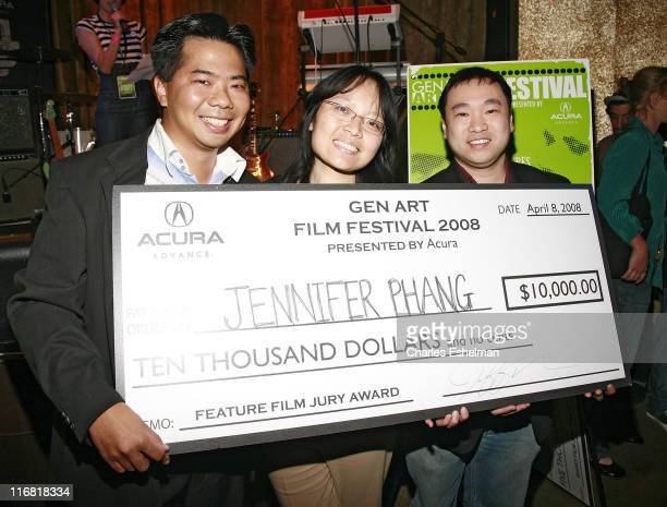 """Director Jennifer Phang attends the 13th Annual Gen Art Film Festival after party for """"A Day's Work"""" at Spotlight Live on April 8, 2008 in New York..."""