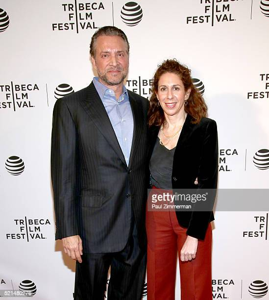 """Director Jenny Carchman and James Arthur Ray attend """"Enlighten Us: The Rise and Fall of James Arthur Ray"""" Premiere during the 2016 Tribeca Film..."""