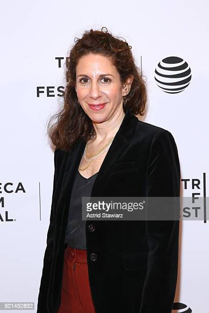 Director Jenny Carchman attends Enlighten Us The Rise and Fall of James Arthur Ray Premiere 2016 Tribeca Film Festival at Chelsea Bow Tie Cinemas on...