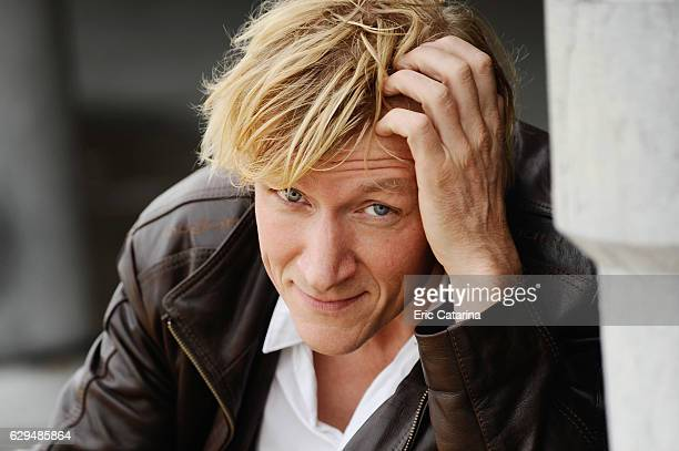 Director Jens Albinus is photographed for Self Assignment on September 25 2009 in San Sebastian Spain