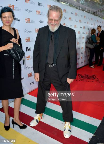 Director Jeremiah S Chechik and guest attend The Right Kind Of Wrong premiere during the 2013 Toronto International Film Festival at Roy Thomson Hall...