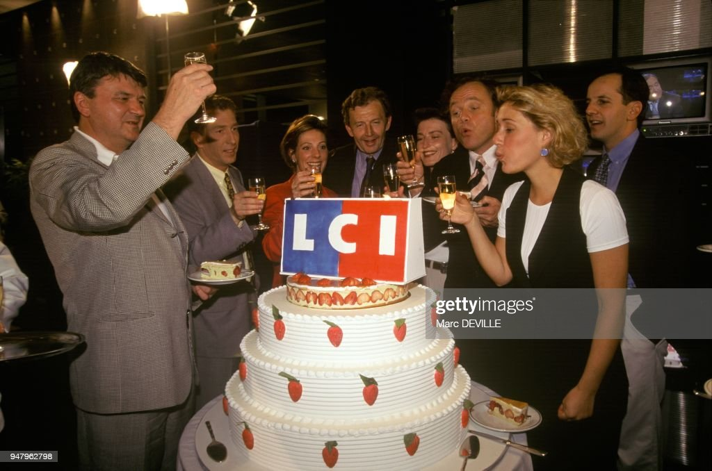 Lci french news channel s st anniversar pictures getty images