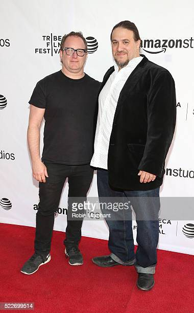 """Director Jerry Kolber and Director Adam """"Tex"""" Davis attend """"14 Minutes from Earth"""" Premiere - 2016 Tribeca Film Festival at SVA Theatre 2 on April..."""