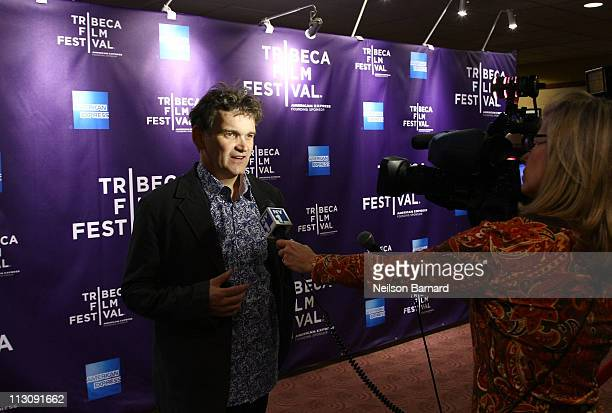 """Director Jerry Rothwell attends the premiere of """"Donor Unknown"""" during the 2011 Tribeca Film Festival at Clearview Cinemas Chelsea on April 23, 2011..."""