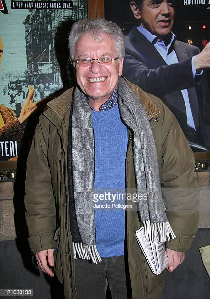 Director Jerry Zaks attends the reopening of A Bronx Tale on Broadway after the Stagehands' strike ends at Walter Kerr Theatre on November 29 2007 in...