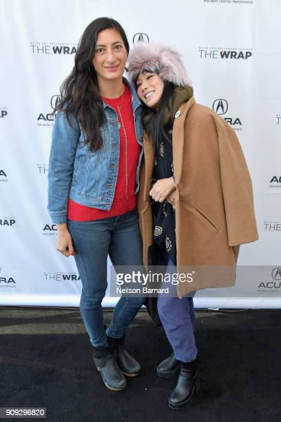 Director Jessica Sanders and actor Vivian Bang of 'End Of The Line' attend the Acura Studio at Sundance Film Festival 2018 on January 23 2018 in Park...