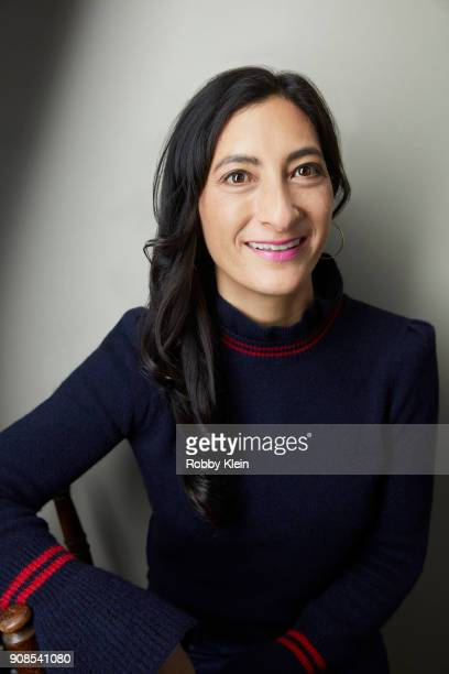 Director Jessica Sanders from the film 'End Of The Line' poses for a portrait at the YouTube x Getty Images Portrait Studio at 2018 Sundance Film...