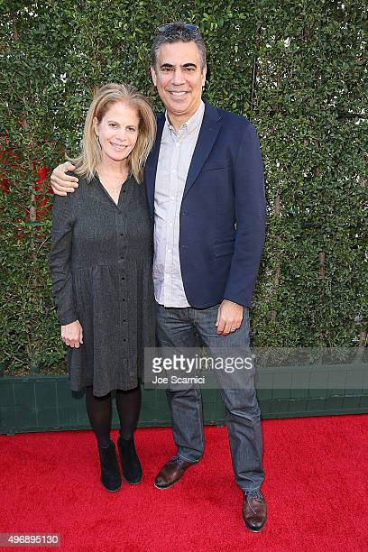Director Jessie Nelson and Michael London attend the Love The Coopers Holiday Luncheon Benefiting The LA Regional Food Bank at The Grove on November...