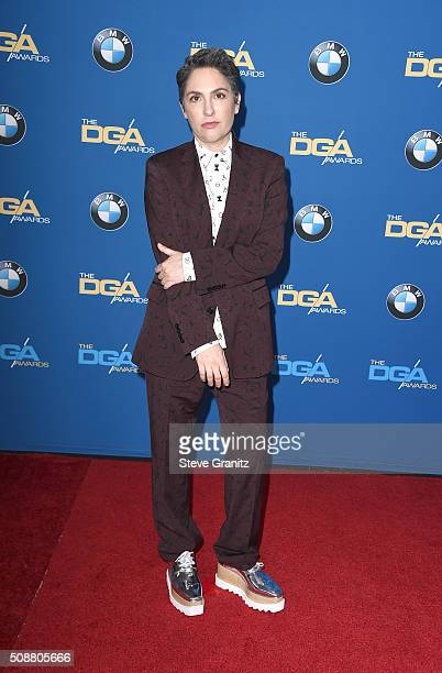 Director Jill Soloway attends the 68th Annual Directors Guild Of America Awards at the Hyatt Regency Century Plaza on February 6 2016 in Los Angeles...