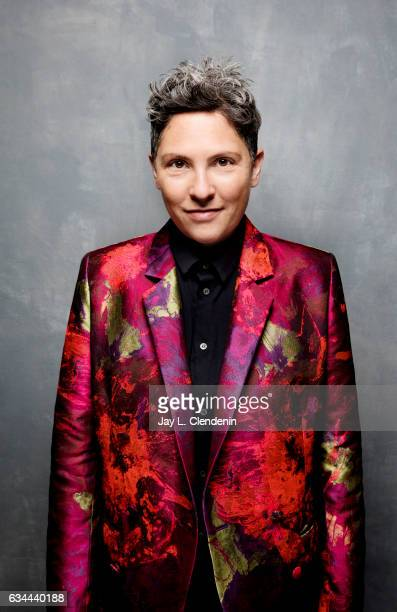 Director Jill Soloway from the Amazon series I Love Dick is photographed at the 2017 Sundance Film Festival for Los Angeles Times on January 22 2017...