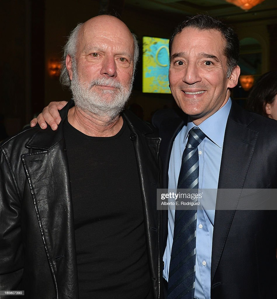 Director Jim Burrows and Rabbi David Wolpe attend the 2013 UCLA Neurosurgery Visionary Ball at the Beverly Wilshire Four Seasons Hotel on October 24, 2013 in Beverly Hills, California.