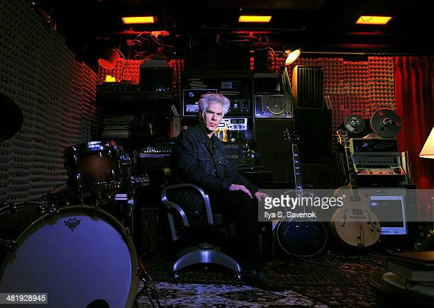 "Director Jim Jarmusch attends the ""Only Lovers Left Alive"" New York screening concert at Santos Party House on April 1, 2014 in New York City."