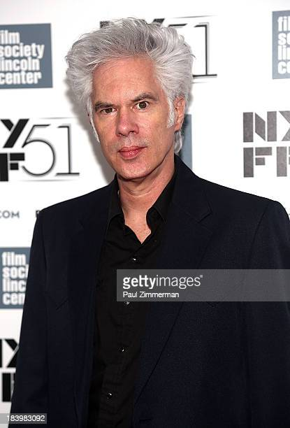 "Director Jim Jarmusch attends the ""Only Lovers Left Alive"" Premiere during the 51st New York Film Festival at Alice Tully Hall at Lincoln Center on..."