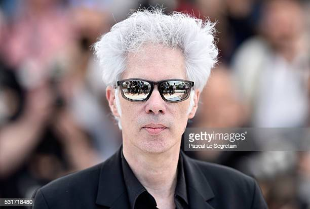 "Director Jim Jarmusch attends the ""Paterson"" photocall during the 69th annual Cannes Film Festival at the Palais des Festivals on May 16, 2016 in..."