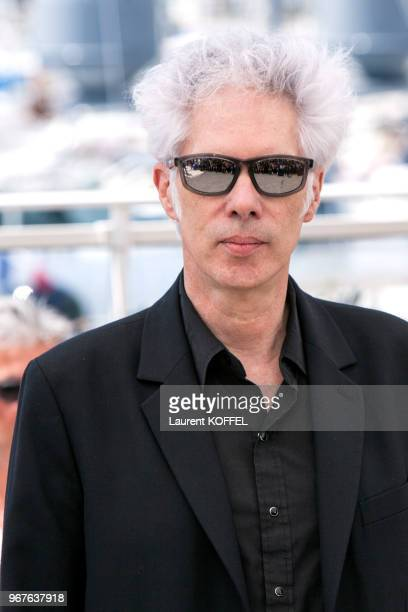 Director Jim Jarmusch attends the 'Paterson' photocall during the 69th annual Cannes Film Festival at the Palais des Festivals on May 16 2016 in...