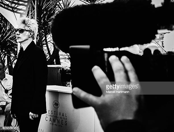 Director Jim Jarmusch is photographed for Vanity Fair Italy on May 12 2016 in Cannes, France.