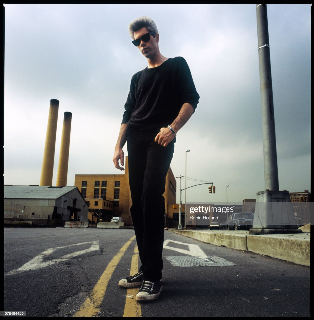 Director Jim Jarmusch photographed on August 10, 1984, in New York City.