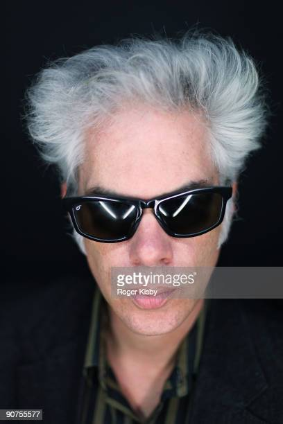 Director Jim Jarmusch poses for a portrait at the ATP New York 2009 festival at the Kutsher's Country Club on September 13, 2009 in Monticello, New...