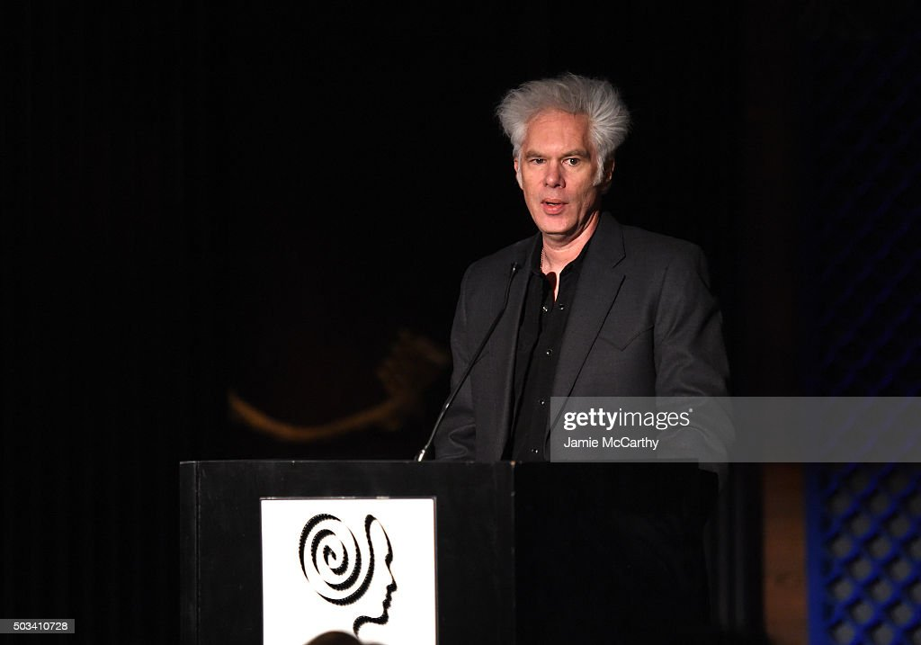 Director Jim Jarmush speaks onstage at 2015 New York Film Critics Circle Awards at TAO Downtown on January 4, 2016 in New York City.