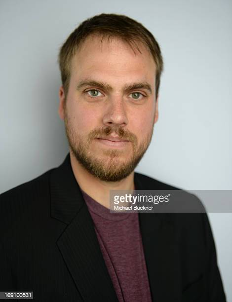 Director Jim Mickle of the film We Are What We Are poses for a portrait at the Variety Studio at Chivas House on May 20 2013 in Cannes France