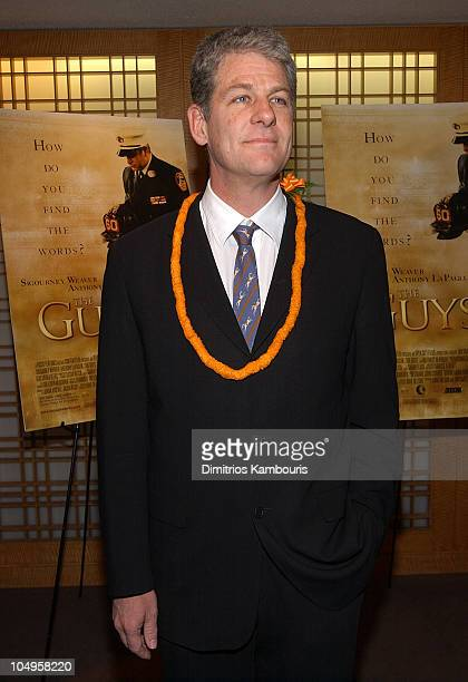 Director Jim Simpson during New York Premiere of The Guys at Alice Tully Hall Lincoln Center in New York City New York United States