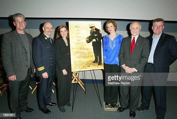 Director Jim Simpson New York City Fire Department Chief of Operations Sal Cassano screenwriter Anne Nelson actress Sigourney Weaver New York City...