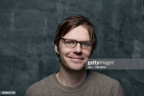Director Jim Strouse from the film The Incredible Jessica James is photographed at the 2017 Sundance Film Festival for Los Angeles Times on January...