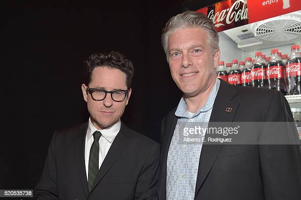 Director J.J. Abrams and Doug Darrow, SVP, Cinema Business Group attend the CinemaCon 2016 Gala Opening Night Event: Paramount Pictures Highlights...
