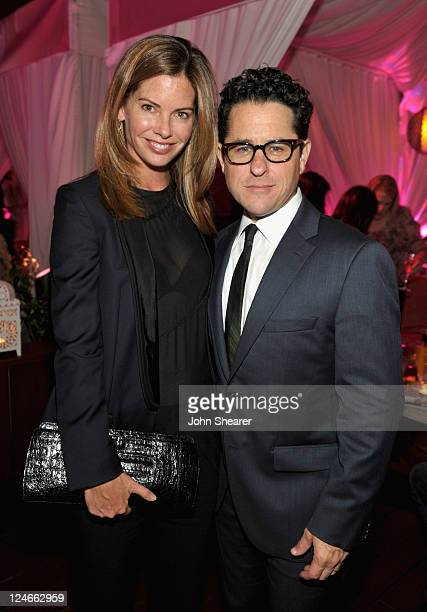 Director JJ Abrams and Katie McGrath attend Elyse Walker Presents Pink Party '11 Hosted By Jennifer Garner To Benefit CedarsSinai Women's Cancer...