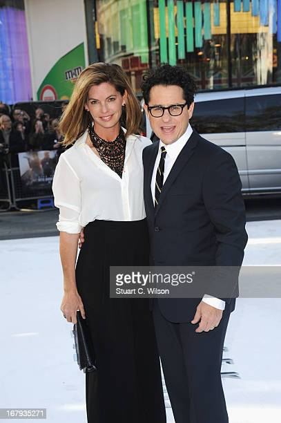 Director JJ Abrams and Katie McGrath attend the UK Premiere of 'Star Trek Into Darkness' at The Empire Cinema on May 2 2013 in London England