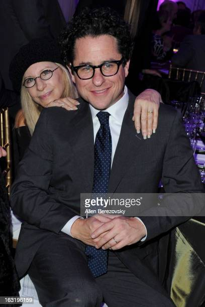Director JJ Abrams and recording artist Barbra Streisand attend UCLA Institute Of The Environment And Sustainability's 2nd Annual 'An Evening Of...