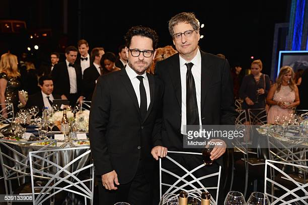 Director JJ Abrams and Sony Pictures Entertainment Motion Picture Group Chairman Tom Rothman attend American Film Institute's 44th Life Achievement...