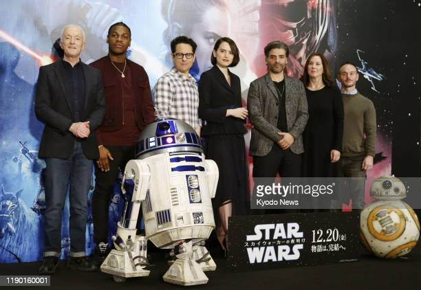 Director JJ Abrams and stars of Star Wars The Rise of Skywalker are in Tokyo on Dec 12 to promote the movie