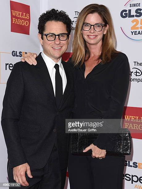 Director JJ Abrams and wife Katie McGrath arrive at the 2015 GLSEN Respect Awards at the Beverly Wilshire Four Seasons Hotel on October 23 2015 in...