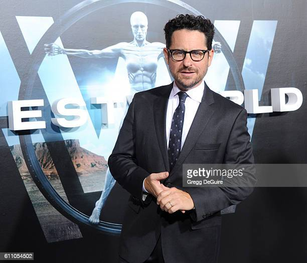 Director JJ Abrams arrives at the premiere of HBO's 'Westworld' at TCL Chinese Theatre on September 28 2016 in Hollywood California