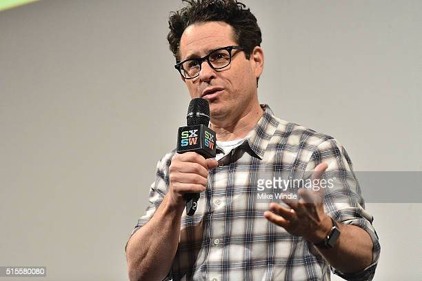 Director JJ Abrams attends the screening of Secrets of The Force Awakens A Cinematic Journey during the 2016 SXSW Music Film Interactive Festival at...